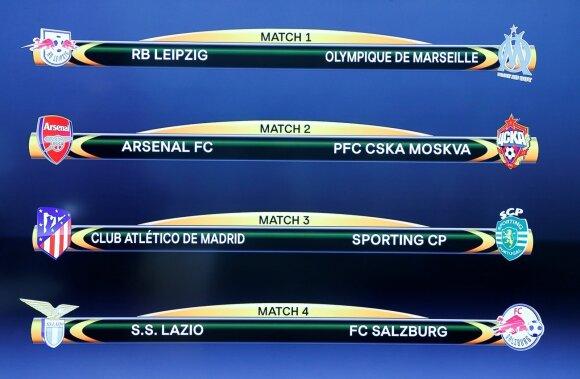 UEFA Europos lygos ketvirtfinalio poros