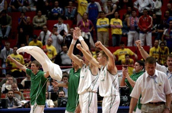 Genialus planas ir lietuvių stebuklas: kaip be Ilgausko ir Sabonio tapome Europos čempionais