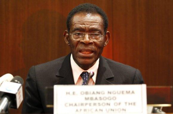 Teodoro Obiangas Nguema Mbasogo