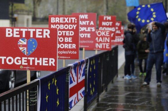 """Protestas dėl """"Brexit"""""""