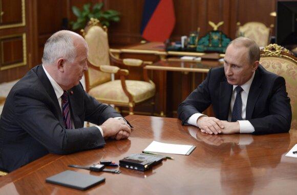 Sergejus Čemezovas, Vladimiras Putinas