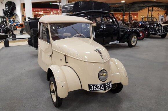 """Elektromobiliai keliais važinėjo kur kas seniau nei įsivaizduojate – paštą """"elektra"""" vežiojo jau prieš 80 metų"""