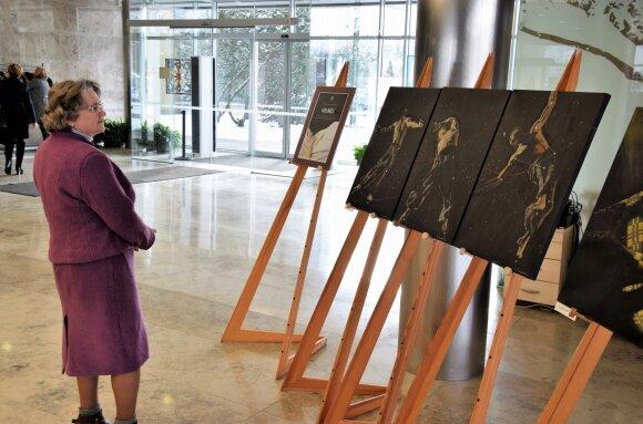 """Ingos Mrazauskaitės tapybos darbų paroda """"Gelmės"""""""