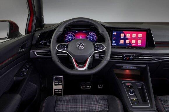 """Ženevos automobilių parodoje """"Volkswagen"""" pristatys tris skirtingus """"Golf"""""""