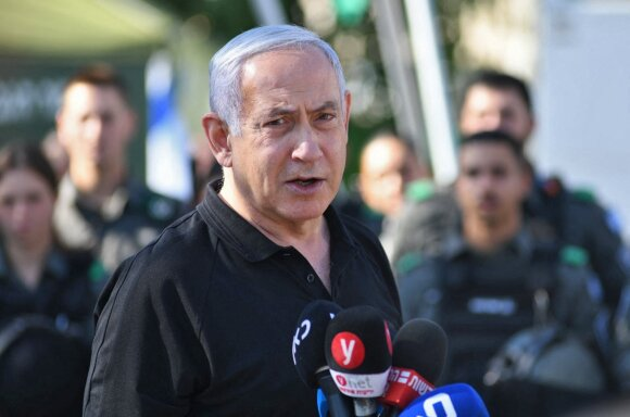 Izraelio ministras pirmininkas Benjaminas Netanyahu