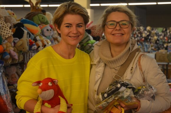 Odeta Bložienė ir Beata Nicholson