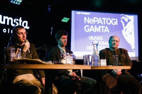 Iš kairės: Andrejus Gaidamavičius, Žilvinas Augustinavičius