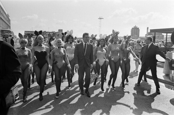 "Hugh Hefnerio ""Playboy"" imperija"