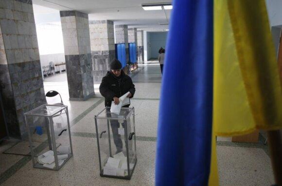 Экзит-полл: Блок Порошенко и Народный фронт побеждают на выборах в Украине