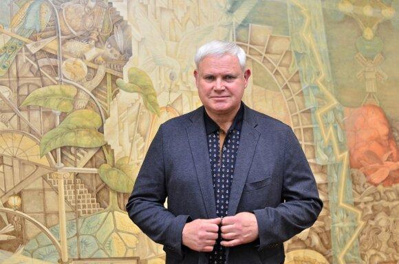 Klaipėdos miesto meras ir KU Tarybos primininkas Vytautas Grubliauskas (KU nuotr.)