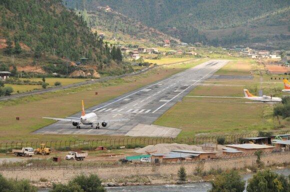 Paro oro uostas Butane