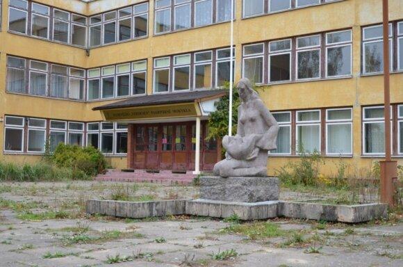 """""""Verdenės"""" mokyklos pastatas (A. Bankauskaitės nuotr.)"""