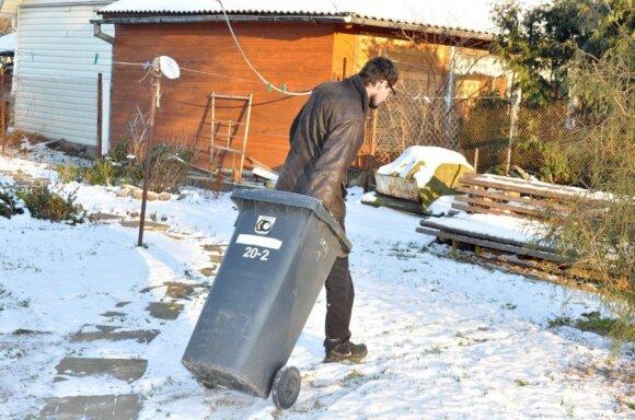 Individualiems namams Panevėžyje šiukšlių išvežimas kils apie 50 proc.