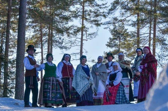"Oslo lietuvių folkloro ansamblis ""Gabija"""
