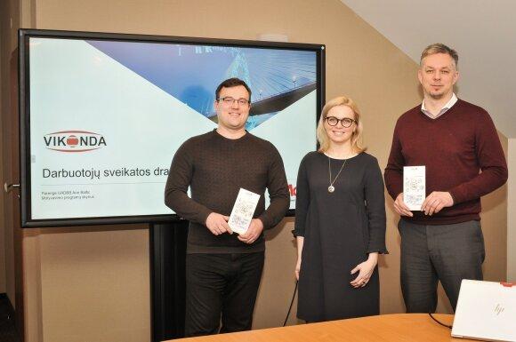 Marius Baubkus, Skaistė Jaskonė ir Mindaugas Snarskis