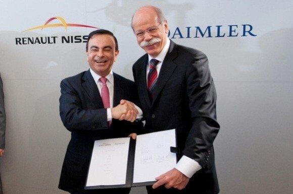 C.Ghosnas (kairėje) ir D.Zetsche