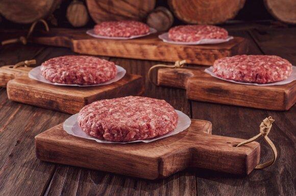 Dirbtinė mėsa (Asociatyvi nuotr.)