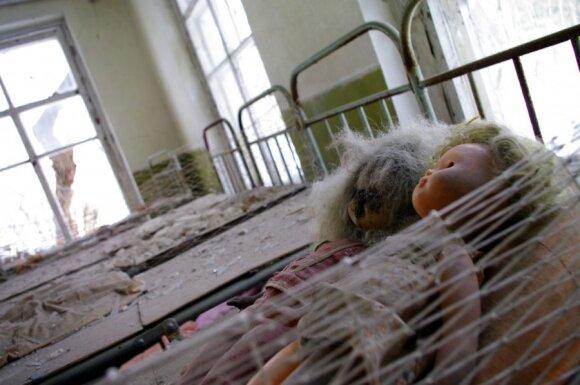 Pripetė, Černobylio AE apylinkės