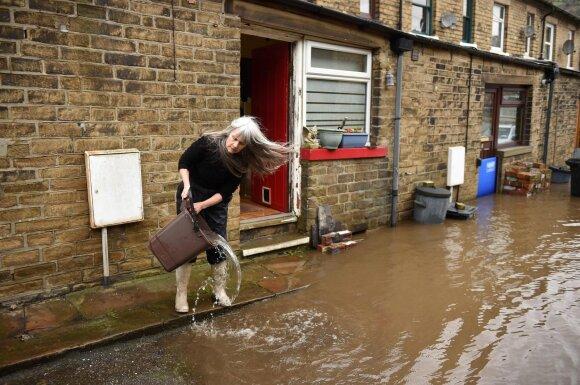 Potvyniai Nyderlanduose