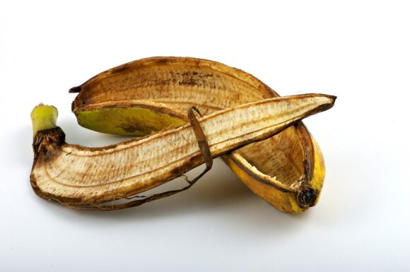 Banano žievė