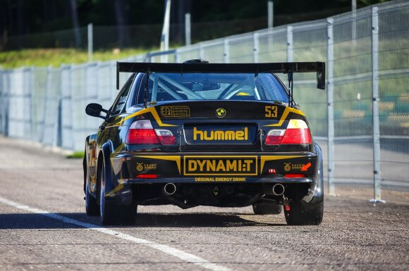 """Dynami:t Energy"" komandos lenktyninis BMW"