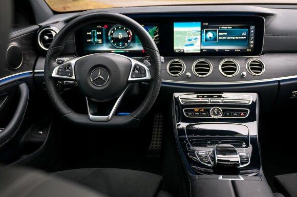 """E klasės """"Mercedes-Benz"""""""
