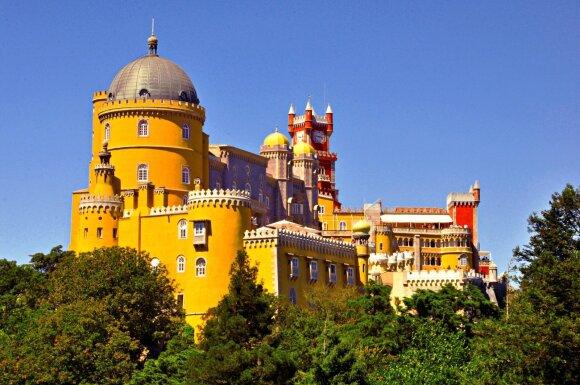 Penos rūmai, Sintra, Portugalija