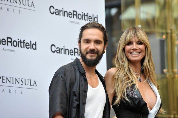 Tom Kaulitz ir Heidi Klum