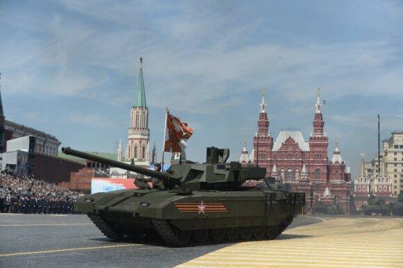 "Tankas T-14 ""Armata"""
