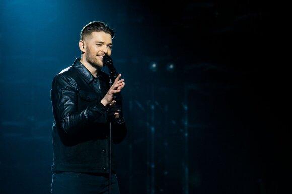 """Antrajame """"Eurovizijos"""" pusfinalyje džiaugėsi tik 4 dalyviai: paaiškėjo visi finalistai"""