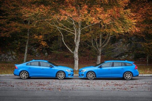 """S60 ir V60 """"Polestar"""" skiriasi tik tuo, kad pastarajame galite vežiotis iš baimės paklaikusį labradorą."""