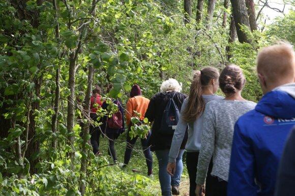 Moksleivių ekspedicija Metelių regioniniame parke