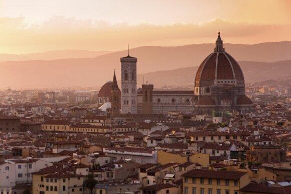 D. Smagurauskaitė. Toskana. Florencija: magiška žemė