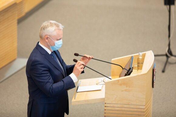 Seimas nusprendė: Mizaras taps Konstitucinio Teismo teisėju