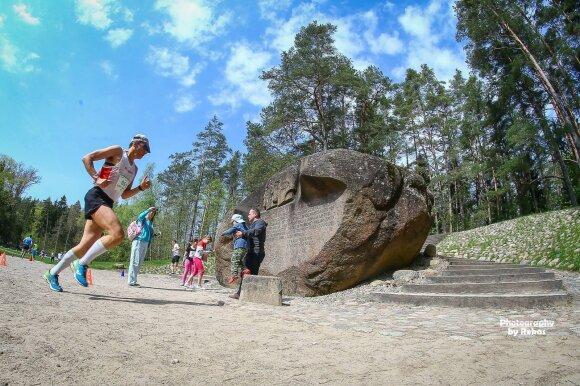 """2018 metų bėgimas """"Anykščiai – Puntuko akmuo – Anykščiai"""" / FOTO: Rokas Lukoševičius"""