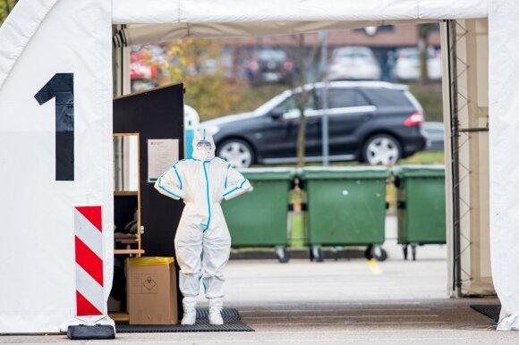 Kaimyninėse šalyse sergamumas koronavirusu – vienas didžiausių ES, Lietuvoje situacija irgi prastėja