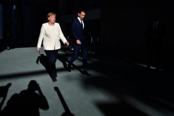 Angela Merkel, Sebastianas Kurzas