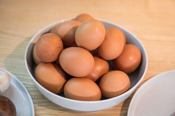 Retas žino, ką gali kiaušiniai: profesorius pasakė, kiek jų galima suvalgyti vienu metu