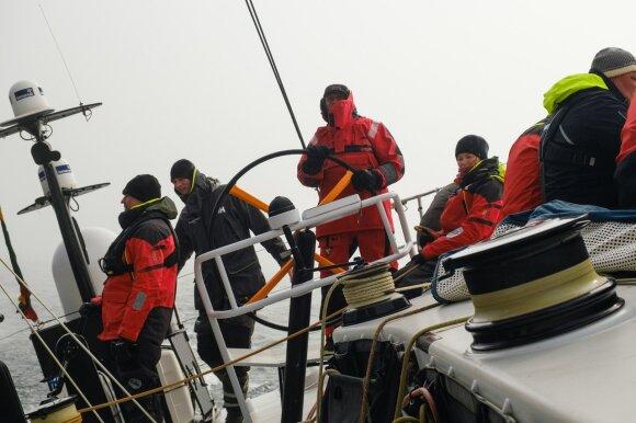 """Ambersail-2"" komanda (Nuotr. Eduardas Bareika)"