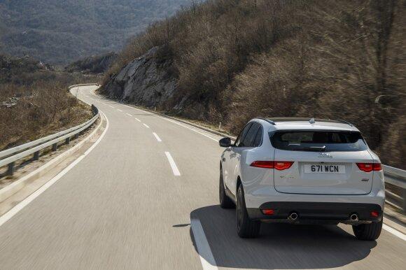 """Jaguar F-Pace"" pasižymi stabilumu"