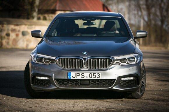 """""""BMW 5"""" vidutiniškai palengvėjo 100 kilogramų"""