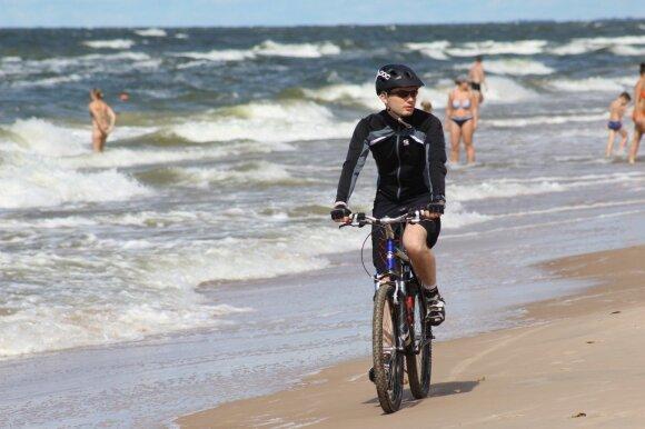Palanga atsiveria dviratininkams – aktyvus poilsis kasmet vis populiaresnis
