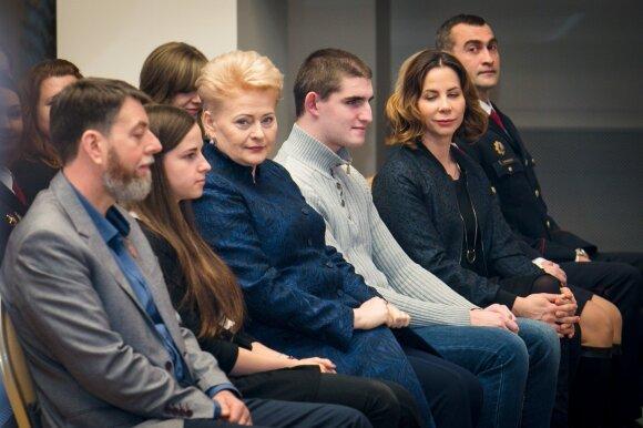 D. Grybauskaitė apie darbui atsidavusius lietuvius: mums tai atrodo kaip stebuklas