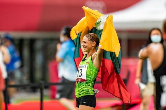Laura Asadauskaitė-Zadneprovskienė tapo olimpine vicečempione