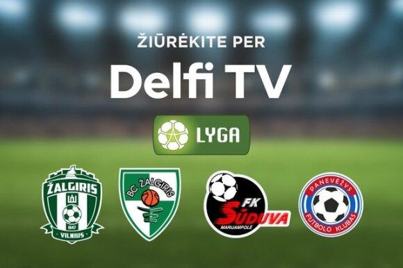 Futbolas per Delfi TV
