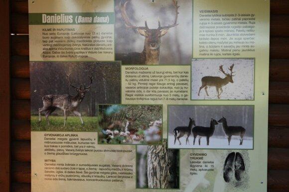 Pažintinis takas medžiotojams