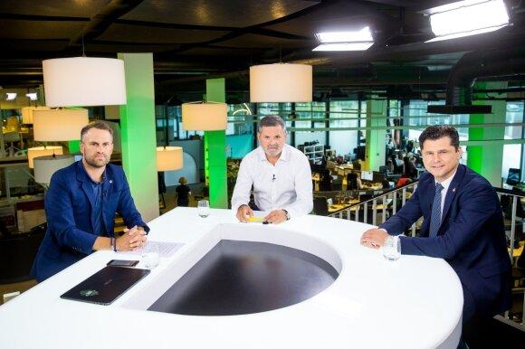 Linas Jociu, Paulius Malžinskas, Tomas Danilevičius