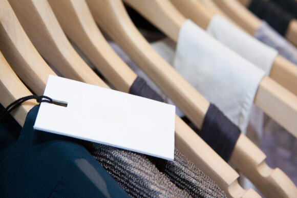 Apsipirkimas, drabužiai, etiketė