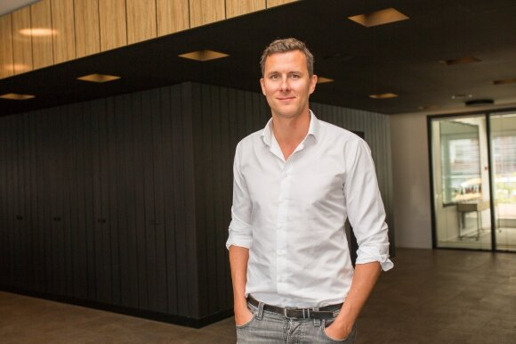 Universal Music Baltijos šalių vadovas Petri Mannonenas