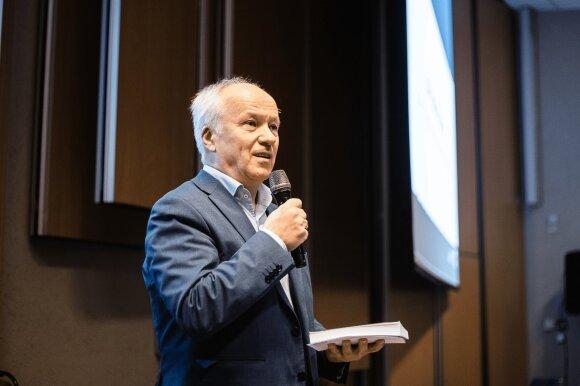 """Verslininkas ir """"Lietuvos Junior Achievement"""" valdybos pirmininkas Vladas Lašas"""